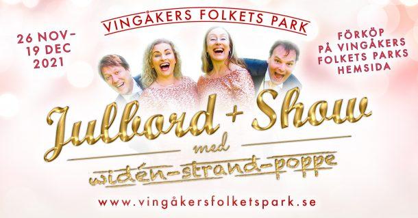 Vingåkers Folkets Park  Julbord + Show 2021